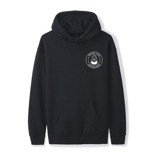 Macba Life Sweatshirt: OG Logo Hoodie BK