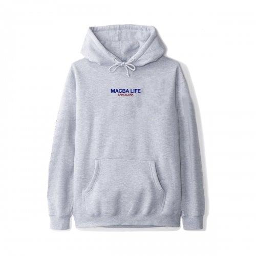 Macba Life Sweatshirt: Two Tones Hoodie GR
