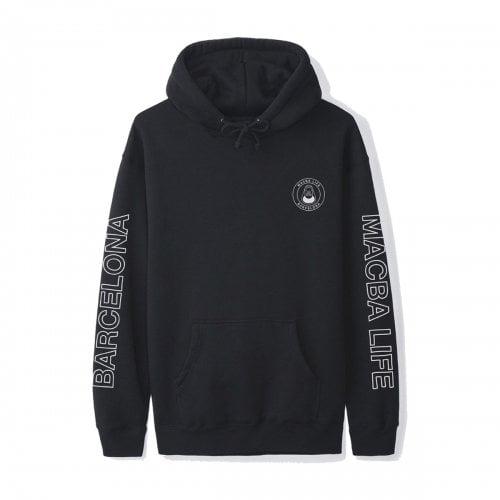 Macba Life Sweatshirt: Free Hand Hoodie BK