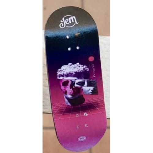 Fingerboard Imagine Deck: Future Sinth Face 34mm