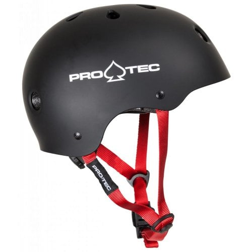 Pro-Tec Junior Helmet: JR Classic Fit Certified Matte Black