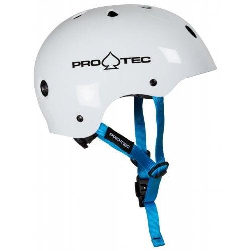 Pro-Tec Junior Helmet: JR Classic Fit Certified Gloss White
