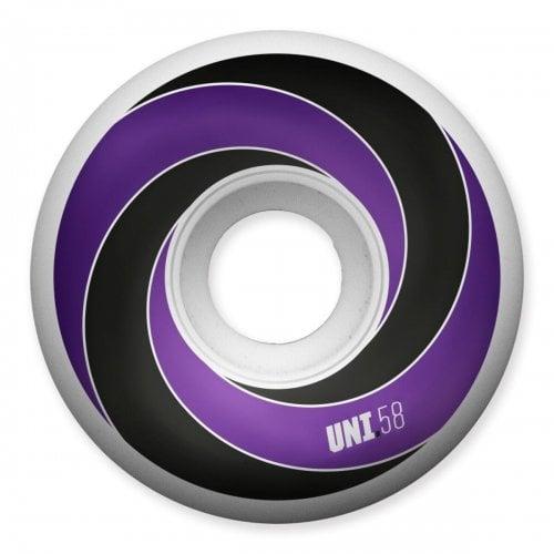 Universal Rollen: Spiral Purple 101A (58mm)