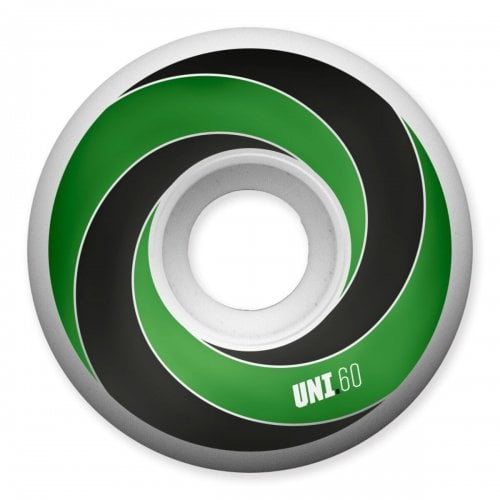 Universal Rollen: Spiral 101A Green (60mm)