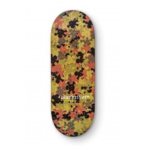 Blackriver Fingerboard Deck: X-Wide Camo Green 33.3mm