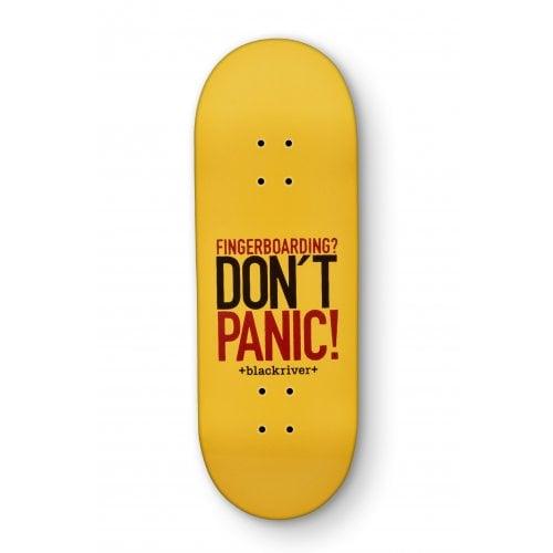 Blackriver Fingerboard Deck: X-Wide Dont Panic 33.3mm