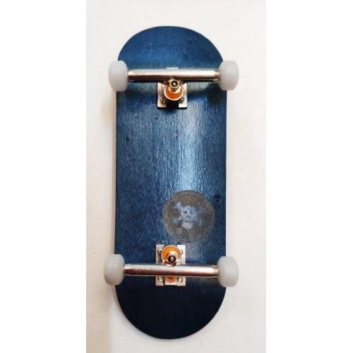 Complete Fingerboard Blackriver : X-Wide BR Mini Logo Blue Set 33.3mm