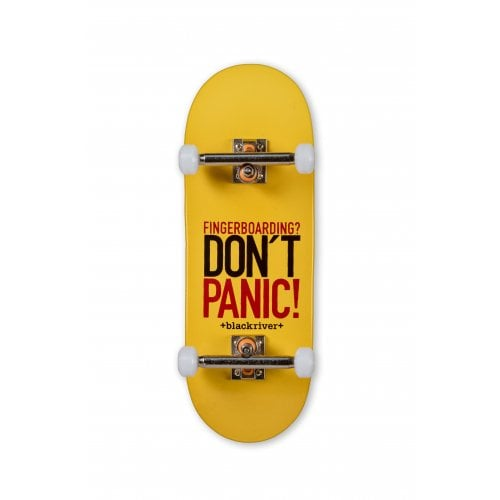 Complete Fingerboard Blackriver : X-Wide 7-ply Dont Panic Set 33.3mm