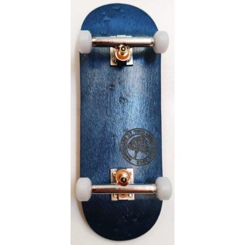 Complete Fingerboard BerlinWood: BW Minilogo Blue Set Wide 32mm