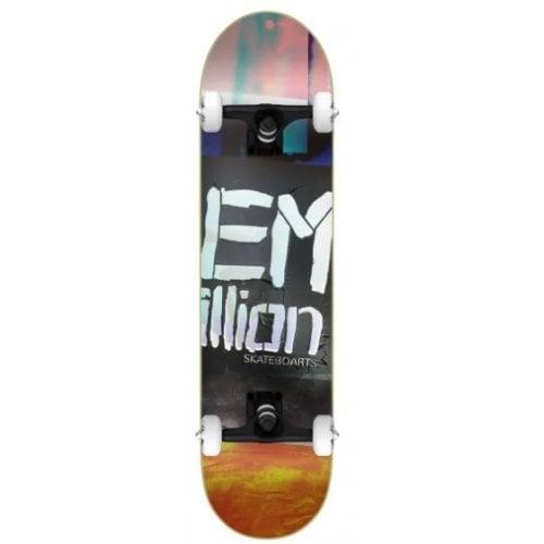 EMillion Komplettboard: Logo Stencil 8.25x32