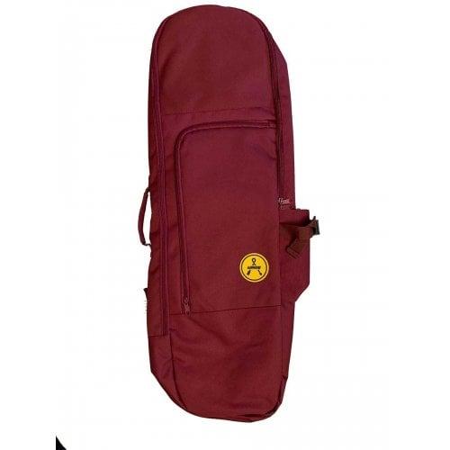 Thrasher Skate Tasche: Arrow: Skate Bag Burgundy
