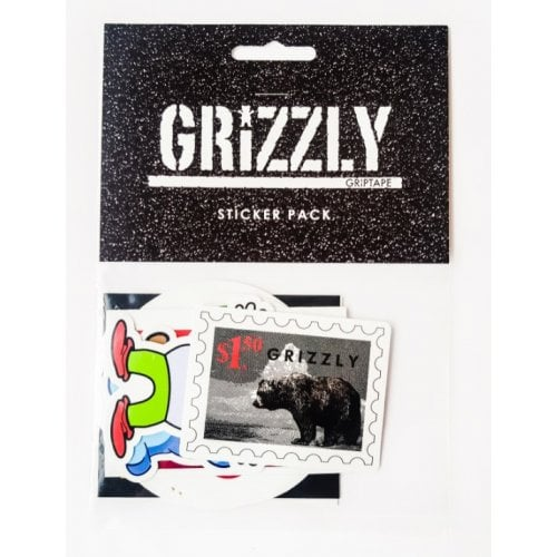 Grizzly Stickers: Seasonal Sticker Pack