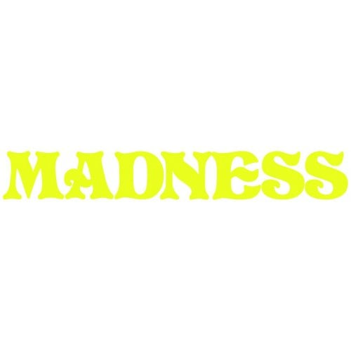 Stickers Madnessa: Letters Vinyl