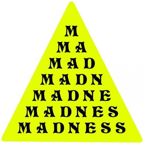 Stickers Madnessa: LettersPyramid Vinyl