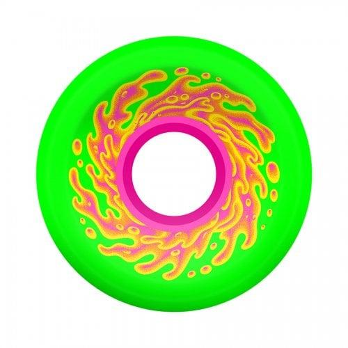 Santa Cruz Rollen: Mini OG Slime Green Pink 78A (54.5mm)