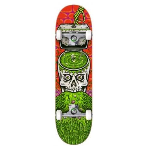 Cruzade Komplettboard: Skull Swirl 8.0x31.85