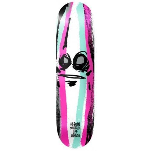 Heroin Skateboards Deck: Yankou Call of the wild 8.25