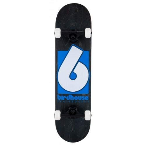 Birdhouse Komplettboards: Stage 3 B Logo Black/Blue 8.0x31.5