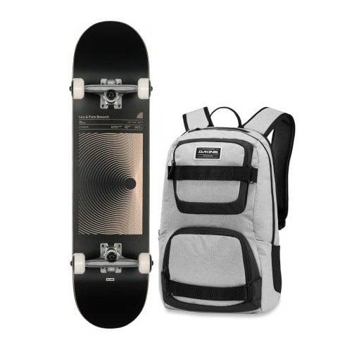 Globe Komplettboard + Dakine Backpack: G1 Lineform Boxed Black 7.75X31