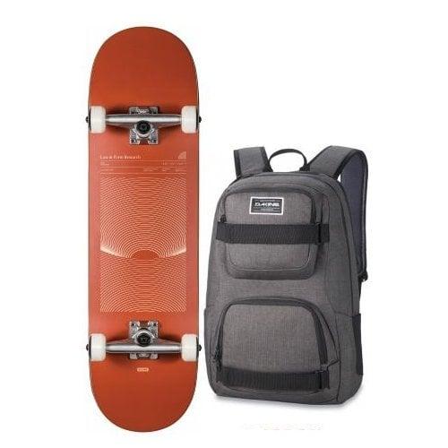 Globe Komplettboard + Dakine Backpack: G1 Lineform Boxed Cinnamon 8.25x32