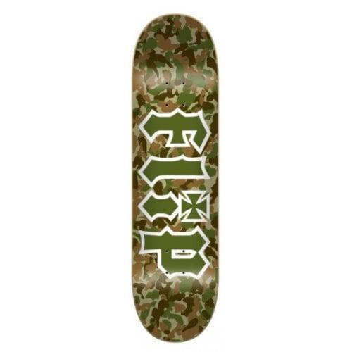 Flip Deck: Team Combat Green 8.25x32.31