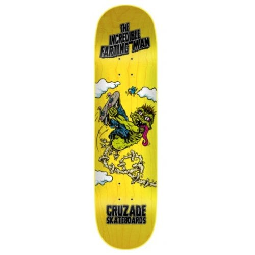 Cuzade Deck: The Incredible Farting Man 8.0x31.5