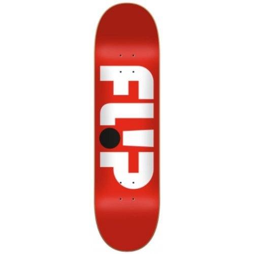 Flip Deck: Odyssey Logo Red 8.25x32.31