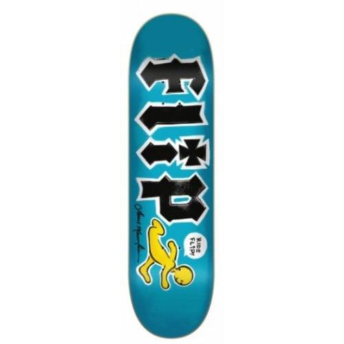 Flip Deck: Mountain Doughboy Stencil 8.25x32.31