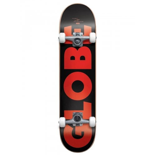 Globe Komplettboard: G0 Fubar Black/Red 7.75x31