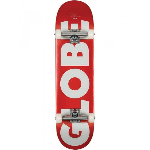 Globe Komplettboard: G0 Fubar Red/White 8.25x32