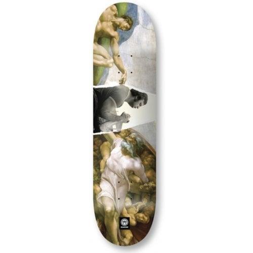 Imagine Skateboards Deck: New Age _ Adan 8.0