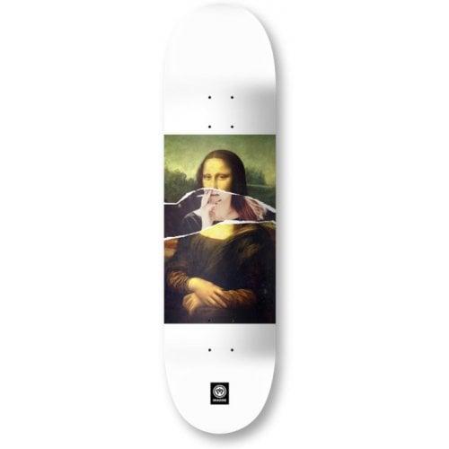 Imagine Skateboards Deck: New Age _ Monalisa 8.6