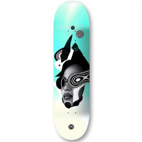 Imagine Skateboards Deck: Maiden 8.7