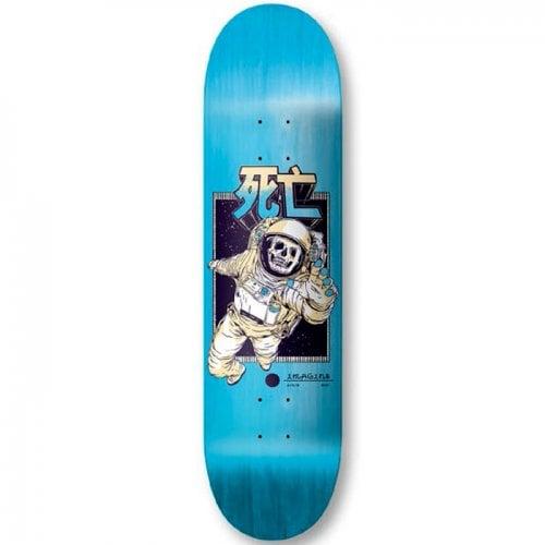 Imagine Skateboards Deck: Dead Man 8.5