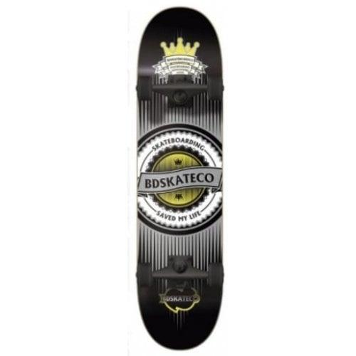 BDSkate Komplettboards: Crown Black 8.0
