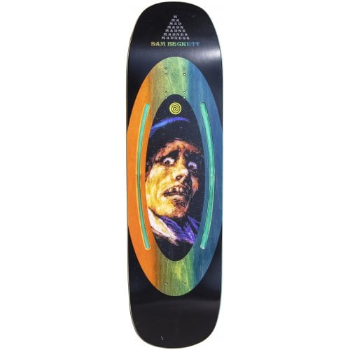 Madness Skateboarding Deck: Sam Face Plant Impact Light Beckett 8.75x32.5