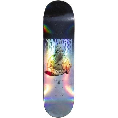 Madness Skateboarding Deck: Clay Tantrum Impact Light Kreiner 8.25x32.1
