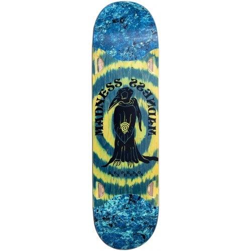 Madness Skateboarding Deck: Perelson Birdie R7 Slick 8.375x32.4