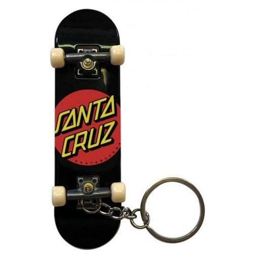 Santa Cruz Schlüsselanhänger: Classic Dot Fingerboard Black
