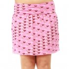 Roxy Girl Skirt: Little Pop Solid PK, XS