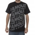 Famous Stars and Straps Famous Stars&Straps T-Shirt: Step Up BK, S
