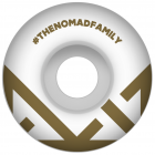 Nomad Rollen: Crown Logo Gold (53 mm)