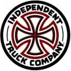Stikers Independent: Indy Black 30 WH/BK/RD