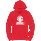 Element Sweatshirt: Fire Red Vertical HO RD