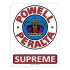 "Stickers Powell Peralta: 12"" Supreme OG"