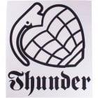 Stickers Thunder Trucks Co: Logo WH/BK