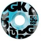 DGK Rollen: Swirl Formula Blue 53mm (101A)