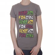 Reell Girl T-Shirt: Mouse GR, XS
