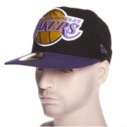 New Era Cap: Mighty 2 Tone Los Angeles Lakers BK/PP
