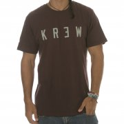 Krew T-Shirt: Locker Oxblood BR